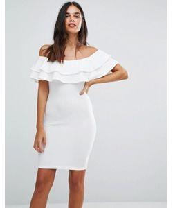 AX Paris | Облегающее Платье Со Спущенными Плечами