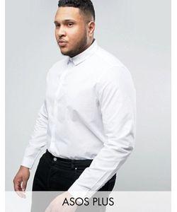 Asos | Белая Рубашка Классического Кроя Plus