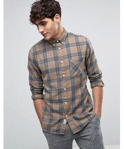 Selected Homme | Фланелевая Рубашка Классического Кроя В Клетку Selected