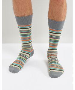 Paul Smith | Классические Носки В Разноцветную Полоску