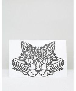 Facelace | Украшение Для Лица Face Lace Basset Cat