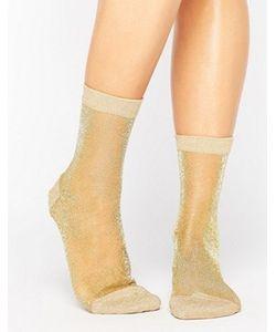 Asos | Полупрозрачные Носки С Блестками