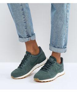 Nike | Зеленые Винтажные Кроссовки Internationalist