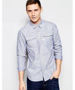 G-Star | Рубашка Классического Кроя Со Сплошным Принтом Landoh
