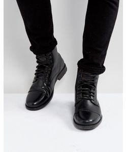 Levi's® | Черные Кожаные Ботинки Emmerson