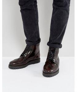 Fred Perry | Кожаные Ботинки-Криперы X George Cox