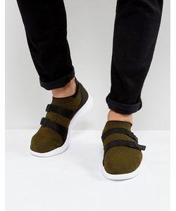Nike | Зеленые Кроссовки Flyknit 898022-002