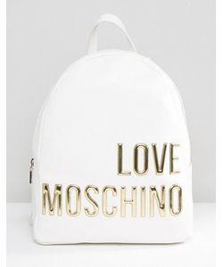 Love Moschino | Рюкзак С Большим Логотипом