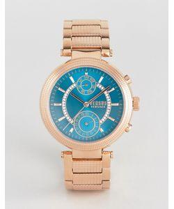 Versus | Золотисто-Розовые Часы Versace S7908 Star Ferry