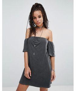 NYTT | Платье С Открытыми Плечами