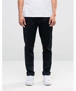 Nudie Jeans Co | Черные Джинсы С Заниженным Шаговым Швом Nudie Brute Knut
