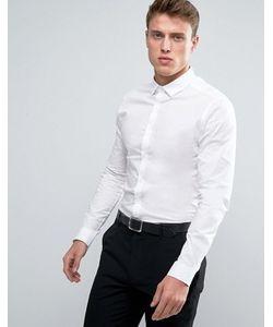Asos | Рубашка Скинни С Длинными Рукавами