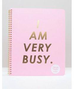 BAN DO | Большой Блокнот С Принтом I Am Busy Ban.Do
