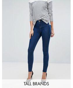 Vero Moda Tall | Зауженные Джеггинсы С Необработанными Краями