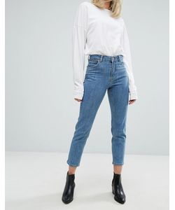 Dr. Denim | Dr Denim Edie High Waisted Slim Mom Jean