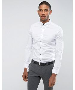 Burton Menswear | Эластичная Рубашка С Длинными Рукавами Athletic