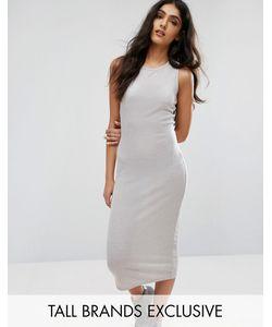 Daisy Street Tall   Длинное Облегающее Платье