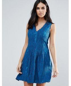 Adelyn Rae | Кружевное Короткое Приталенное Платье