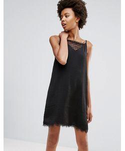 ICHI | Платье С Кружевной Вставкой
