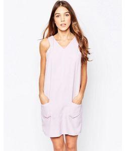 Style London | Цельнокройное Платье С Карманами