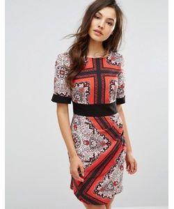 Closet London | Платье С Запахом Спереди И Поясом Оби Closet