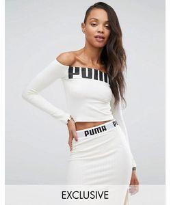 Puma | Топ С Открытыми Плечами И Логотипом Эксклюзивно Для