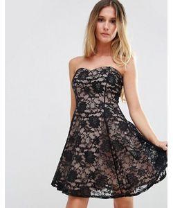 Jessica Wright | Кружевное Платье С Вырезом Сердечком