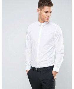 Burton Menswear | Slim Smart Shirt With Collar Bar