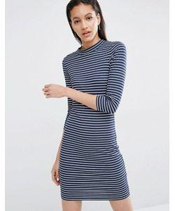 Just Female | Облегающее Платье В Полоску