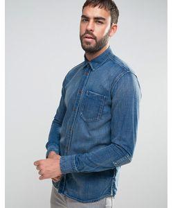 Nudie Jeans Co | Джинсовая Рубашка С Длинными Рукавами Henry