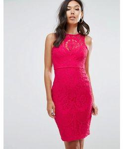 Lipsy | Кружевное Облегающее Платье