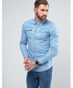 G-Star | Рубашка Из Шамбре С Длинными Рукавами Landoh