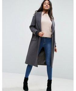 Asos | Пальто С Отделкой На Манжетах