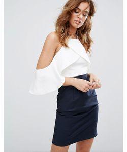 Y.A.S. | Платье В Стиле Колор Блок С Отделкой