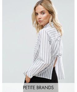 Miss Selfridge Petite | Рубашка С Бантом На Спине