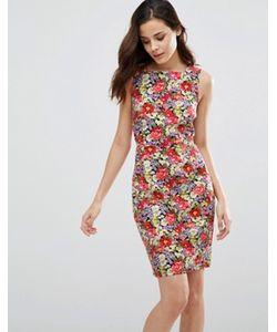 Sugarhill Boutique | Цельнокройное Платье С Цветочным Принтом Libby