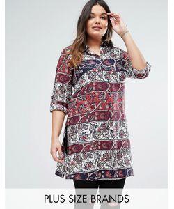 Diya | Платье-Рубашка Plus