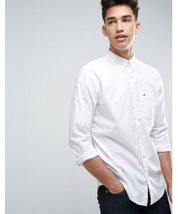 Hollister | Эластичная Рубашка Зауженного Кроя С Логотипом
