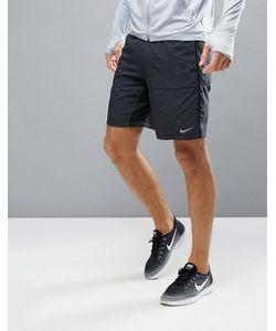 Nike Running | Черные Шорты 9 Distance 642813-013