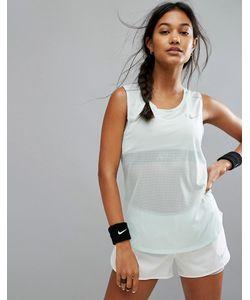 Nike | Майка С Сетчатыми Вставками Running