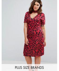 Pink Clove | Платье С Леопардовым Принтом