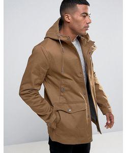 Threadbare | Пальто С Капюшоном И Пуговицами Моржовый Клык