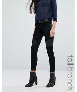 Vero Moda Tall | Джинсы В Байкерском Стиле С Отделкой Из Искусственной Кожи Vero Moda