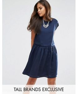 Noisy May Tall | Платье Без Рукавов С Заниженной Талией