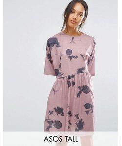 ASOS TALL | Свободное Платье С Принтом