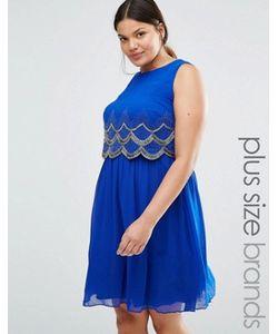 Lovedrobe Luxe | Приталенное Платье Без Рукавов
