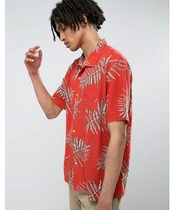 Brixton | Свободная Рубашка С Принтом