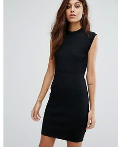 Y.A.S. | Трикотажное Облегающее Платье С Сетчатым Узором Y.A.S Penta