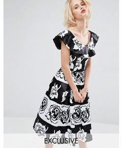 Horrockses | Платье Миди Для Выпускного Gabriella