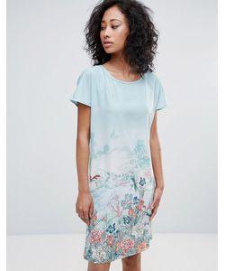 Uttam Boutique | Платье-Туника С Принтом